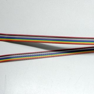 Ribbon cable with 6 connectors