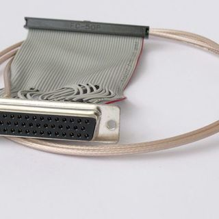Customized ribbon cable, spliced and coax-cable